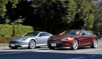 Aston Martin Vanquish & DB9