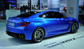 Subaru WRX Concept|スバル WRX コンセプト