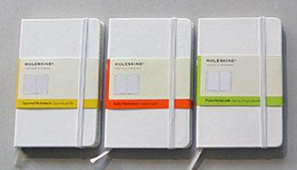 モレスキン ホワイトノートブック 03