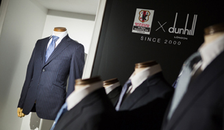 "dunhill|サッカー日本代表公式スーツ""勝負服""ローンチイベント02"