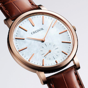 クレドール シグノ セイコー腕時計100周年記念限定モデル
