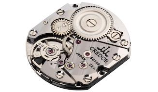 クレドール シグノ セイコー腕時計100周年記念 キャリバー6870 20周年記念限定モデル