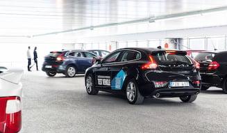 Volvo Autonomous Parking ボルボの自律駐車システム