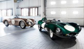 Jaguar D-Type & C-Type|ジャガー Dタイプ & Cタイプ