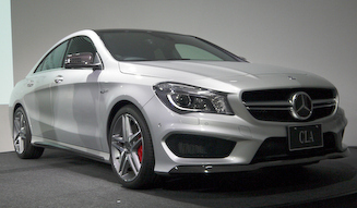 Mercedes-Benz CLA 45 AMG 4MATIC|メルセデス・ベンツ CLA 45 AMG 4マチック