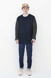 BLACK & BLUE|2013年秋冬コレクション 02