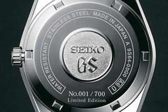 グランドセイコー ヒストリカルコレクション 「44GS」限定モデル(復刻デザイン・手巻) 02