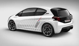 Peugeot 208 HYbrid FE Concept|プジョー 208 ハイブリッド FE コンセプト