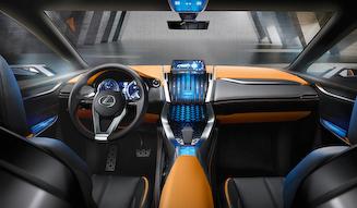 Lexus LF-NX レクサス LF-NX