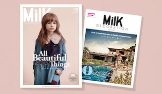 BOOK|パリ発のキッズファッション誌「MilK」 03
