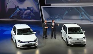 Volkswagen e-Golf & Volkswagen e-up! フォルクスワーゲン e-ゴルフ & フォルクスワーゲン e-up!