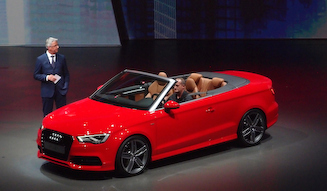Audi A3 Cabriolet アウディ A3 カブリオレ