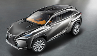 Lexus LF-NX|レクサス LF-NX
