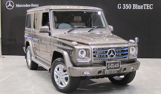 Mercedes-Benz G 350 BlueTEC|メルセデス・ベンツ G 350 ブルーテック