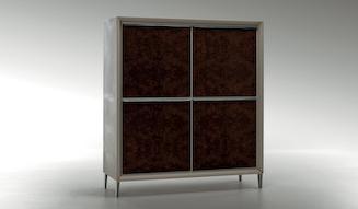 Bentley Home Collection Sherbourne & Kingsbridge cabinet