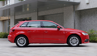 Audi A3 Sportback 1.8 TFSI quattro|アウディ A3 スポーツバック 1.8 TFSI クワトロ
