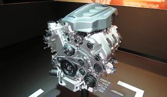 Porsche V6 Twin Turbo engine マカン ターボに搭載されるV6ツインターボ エンジン