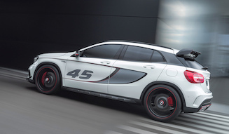 Mercedes-Benz Concept GLA 45 AMG|メルセデス・ベンツ コンセプト GLA 45 AMG 07