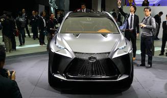 Lexus LF-NX|レクサス LF-NX 16