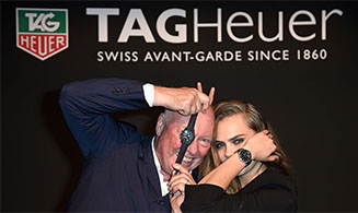 TAG Heuer- Cara Delevingne, Catwalking With A Lion
