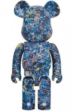 BE@RBRICK-Jackson-Pollock-Studio-1000%(WATER-PRINT)_1
