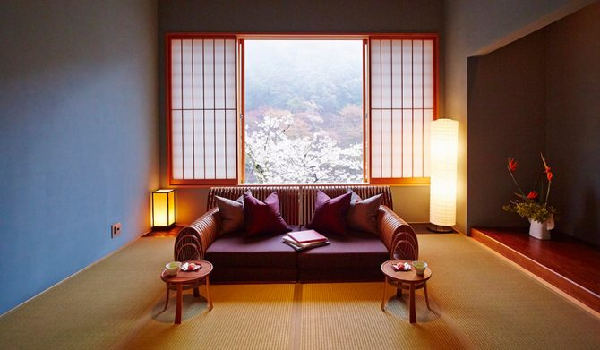 HOSHINOYA Kyoto 夜桜ディナー