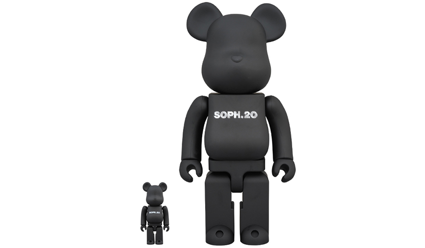 BE@RBRICK SOPH. 20th ANNIV. 100% & 400%|MEDICOM TOY