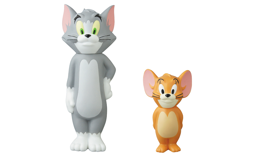 VCD TOM and JERRY BE@RBRICK TOM and JERRY 2PACK|MEDICOM TOY