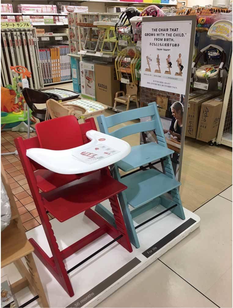 【ファミリー・キッズ】世界売上900万台!子ども用椅子の「トリップトラップ」(2018年3月号)