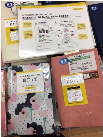 【マネー・仕事】1日1ページから月間まで機能的な「EDiT」手帳