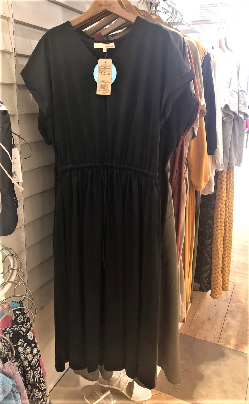 【ファッション】究極のシンプルコーデをかなえてくれる「Tシャツワンピース」(2019年7月号)