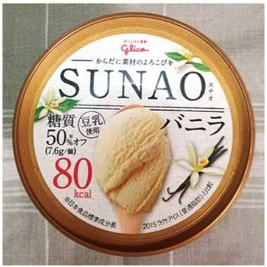 SUNAO:150円(税別・グリコ)