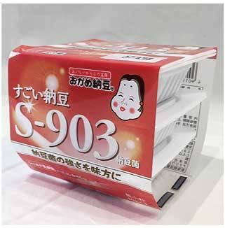 おかめ納豆 すごい納豆S-903:198円(税別・タカノフーズ)