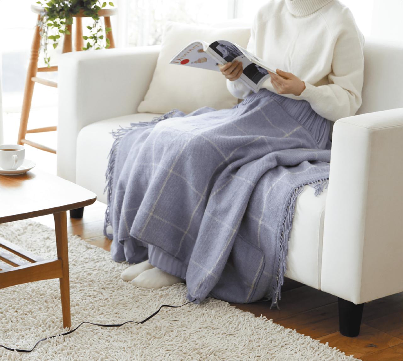 【STAFF PICKS】ふんわり暖かく包み込んでくれる USB給電式の電気ショールブランケット…etc.(2021年1月号)