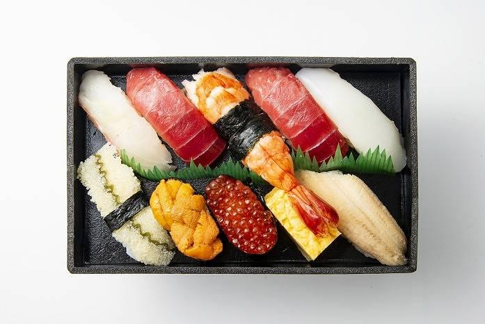 築地壽司清 限定推薦握壽司 日幣2300元(含稅)