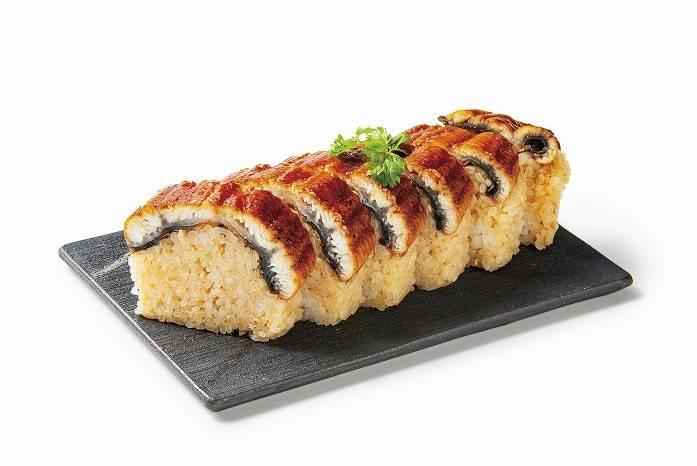 築地 竹若 鰻魚棒壽司 日幣1600元(含稅)