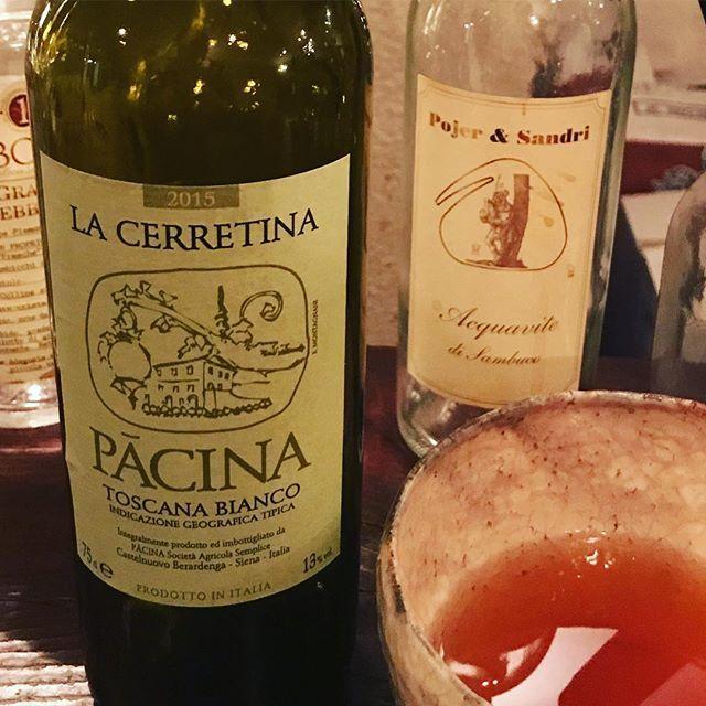 """winy on Instagram: """"La Cerretina 2015 / Pacina (Giovanna Tiezzi and Stefano Borsa) - Toscana, Italy (Trebbiano, Malvasia) ラ・チェレッティーナ 2015 /  パチーナ(ステーファノ・ボルサ &…"""" (8587)"""