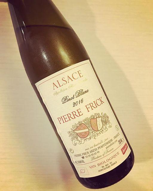 "winy on Instagram: ""Pinot Blanc 2016 / Pierre Frick - Alsace, France (Pinot Blanc) ピノ・ブラン 2016 / ピエール・フリック - フランス、アルザス(ピノ・ブラン) #winy #winytokyo #vinnature…"" (8617)"