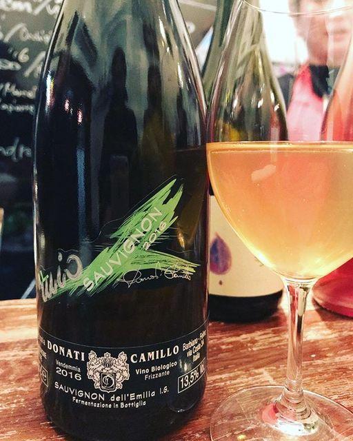 """winy on Instagram: """"Sauvignon Frizzante 2016 / Camillo Donati - Emilia Romagna, Italy (Sauvignon Blanc) ソーヴィニョン・フリッツァンテ 2016 / カミッロ・ドナーティ -…"""" (8691)"""