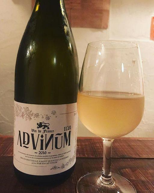 "winy on Instagram: ""11.61 Blanc 2016 / Ad Vinum (Sebastian Chatillon) - Rhone, France (Vermentino 10%, Sauvignon Blanc 10%, Roussanne 10%, Grenache Blanc 10%,…"" (8871)"