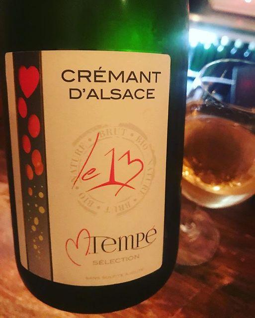 """winy on Instagram: """"Crémant D'Alsace Le 13 Selectionne Par 2013 / Marc Tempe - Alsace, France (Pinot Auxerrois 30%, Pinot Blanc 30%, Pinot Gris 20%, Pinot Noir…"""" (9346)"""