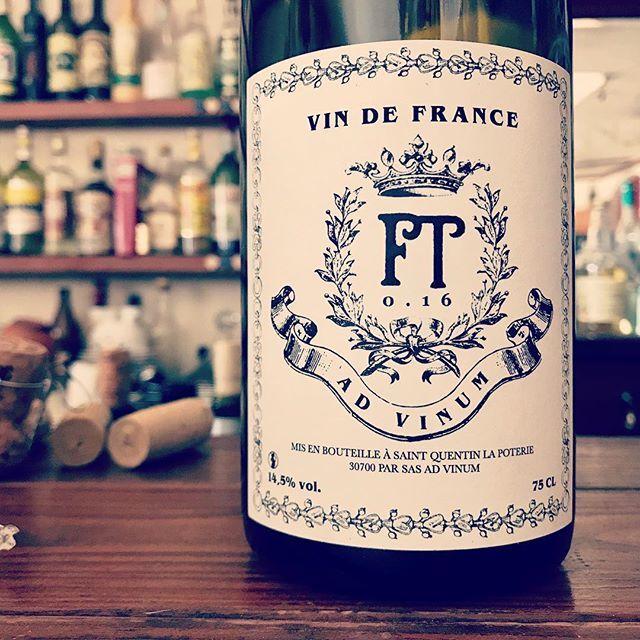 "nadja1963 on Instagram: ""ローヌの新星アド ヴィヌム。FT0.16。全部混ぜ全房発酵2016。シャトーヌッフに許されているような10種と葡萄を白が多めで軽やかに。00年代を代表するセンスであるペラペラの紙一枚のヴァンナチュール…"" (9765)"