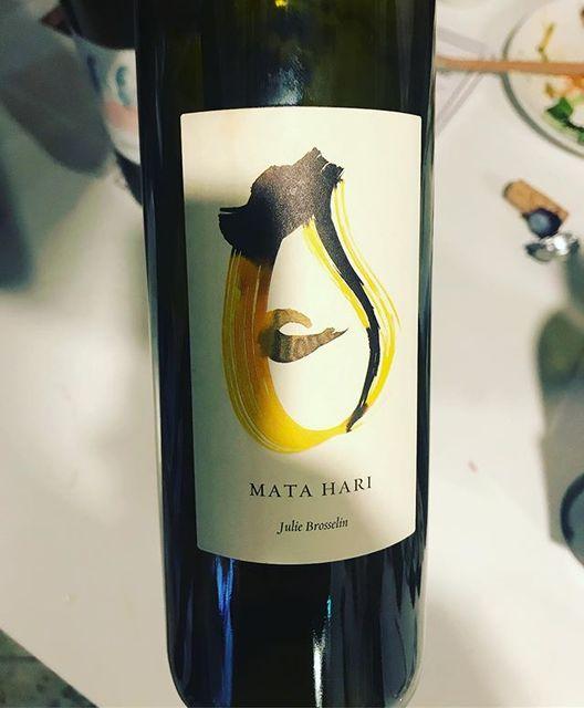 "winy on Instagram: ""Mata Hari 2015 / Julie Brosselin - Languedoc, France (Grenache Blanc) マタ・ハリ 2015 / ジュリー・ブロッスラン - フランス、ラングドック(グルナッシュ・ブラン) #winy #winytokyo…"" (9950)"