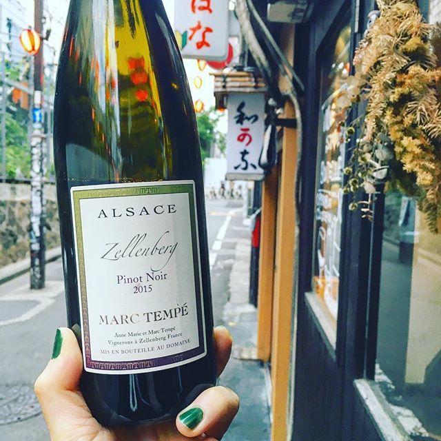 "NoZoMi MiURa on Instagram: ""5/2 水曜日Openです!  また明日から連休ですね! 朝には雨も止みそうですしお出かけ日和🌞 連休前日ゆるりとお待ちしてます。 24時Closeです。  Pinot noir Zellenberg'15/Marc Tempe France,Alsace…"" (9964)"
