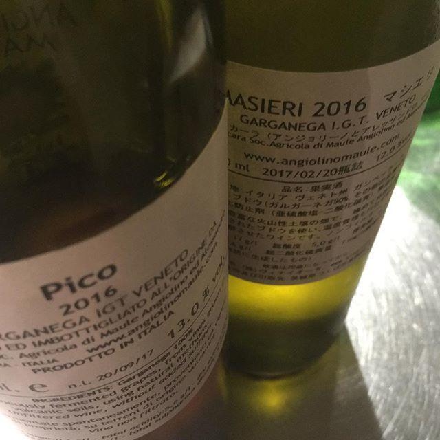 """Hidefumi Ishii on Instagram: """"甲乙つけがたいマジでla biancaramasieri 2016garganega etc.pico 2016garganega"""" (10384)"""