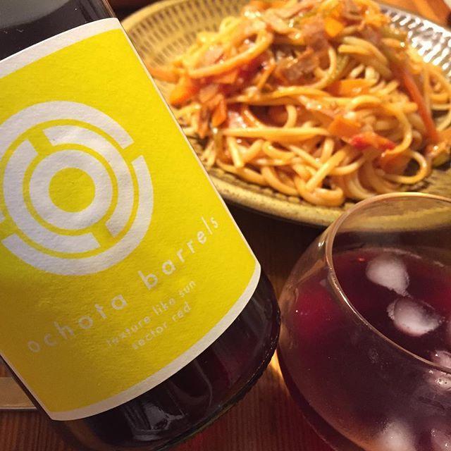 """Takuro Koga on Instagram: """"いつかの晩御飯より。 モリモリのナポリタンはリングイネで。 僕はディチェコのリングイネが大好きなのです。 ディチェコ買うならno.7のリングイネ! 話がズレましたが、飲んだのはオーストラリア。 アデレードヒルズのタラス・オコタが造る、 テクスチャー ライク サン2016。…"""" (10512)"""