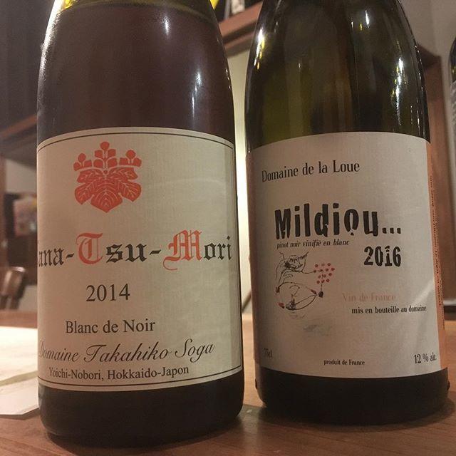 "Hidefumi Ishii on Instagram: ""Domaine de la LoueMildiou... 2016Pinot Noir vinifié en blancDomaine TAKAHIKONana-Tsu-Mori 2014Blanc de Noirpinot noir"" (10803)"