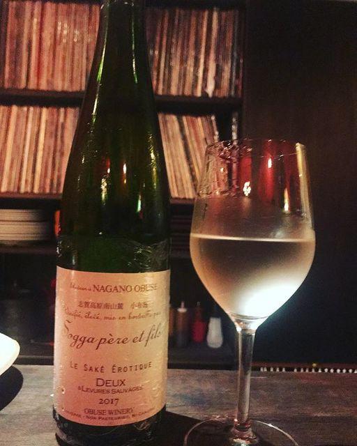 winyさんはInstagramを利用しています:「小布施ワイナリーの日本酒. Sogga père et fils Le Saké Erotique Deux 2017 / Obuse Winery - Nagano, Japan ソガ・ペール・エ・フィス・レ・サケ・エロテッイク・ドゥー 2017 / 小布施ワイナリー -…」 (11335)