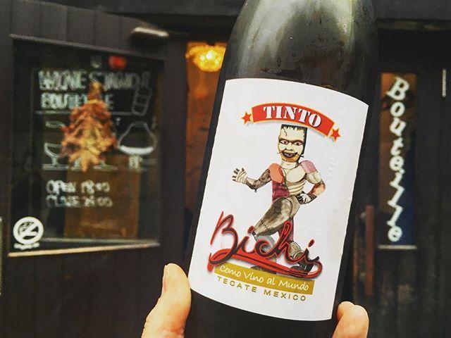"WINE STAND Bouteille on Instagram: ""8/7 火曜日Openです!  涼しくて幸せ〜🤸🏼♀️ 台風は今日はまだ大丈夫そうです! 渋谷は雨全く降ってマセン👌 本日もお待ちしております♪  Tinto'16/Bichi wines Mexico,Tecate nebbiolo,Tempranillo,Rosa del…"" (11476)"