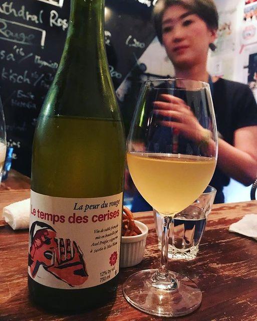 "winy on Instagram: ""La peur du rouge 2016 / Le Temps des Cerises (Axel Prufer) - Languedoc, France (#Chardonnay) ラ・プール・デュ・ルージュ 2016 / ル・トン・デ・スリーズ(アクセル・プリュファー)-…"" (12536)"